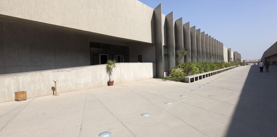 Centro de Conservación del Gran Museo egipcio, que abrirá sus puertas este año.