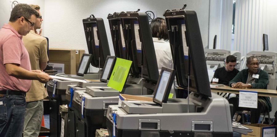 Las votaciones anticipadas serán hasta el 4 de noviembre. (EFE) (horizontal-x3)