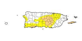 La sequía moderada se extiende a más municipios de Puerto Rico