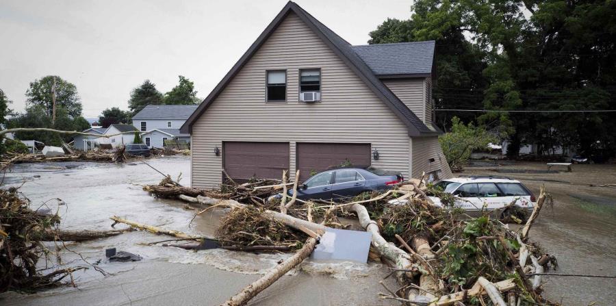 Image result for Norte de Nueva York queda devastado por fuertes lluvias