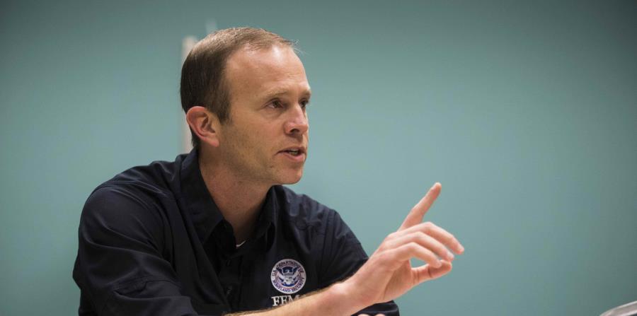 El administrador de FEMA, Brock Long (horizontal-x3)