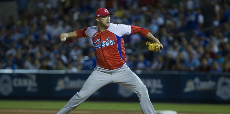 Lázaro Blanco será uno de los lanzadores de la selección cubana. (horizontal-x3)