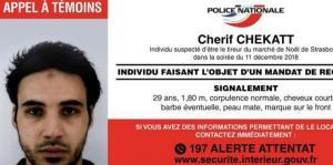 Las autoridades francesas abaten al presunto autor del ataque en Estrasburgo