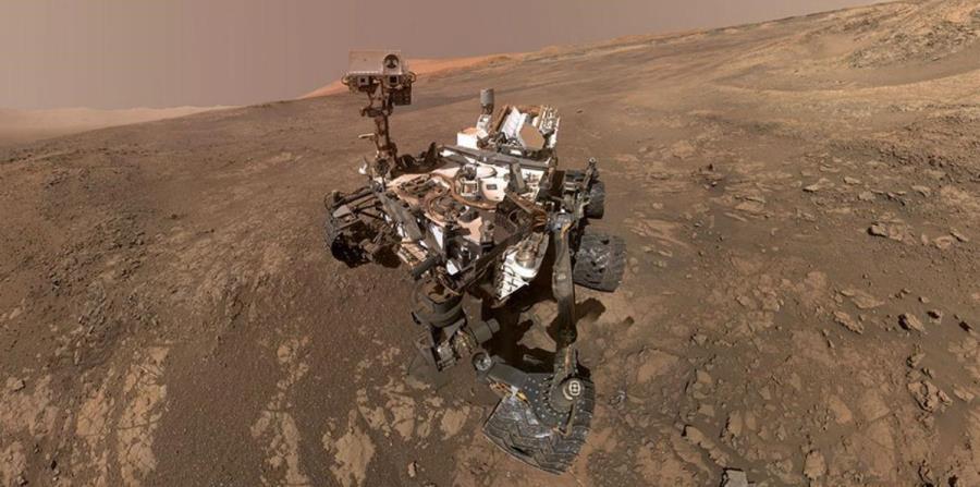 El Curiosity Mars Rover hace un autorretrato en Vera Rubin Ridge en febrero. Llegó al planeta rojo desde el año 2012 (horizontal-x3)