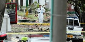 Al menos 9 personas mueren por la explosión de un carro bomba en Colombia