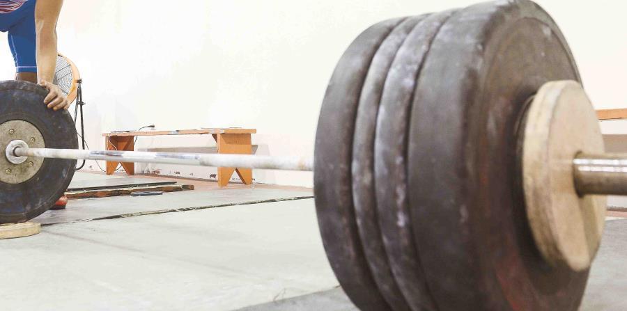 Los 157 kilogramos que levantó Luis Lamenza en arranque Lamanzaes es una marca nacional, (GFR Media) (horizontal-x3)