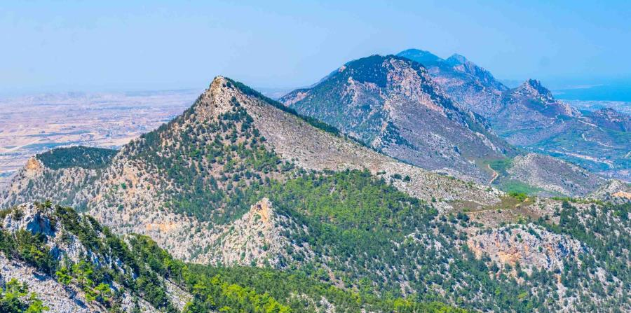Montañas de Kyrenia, en Chipre (Shutterstock.com)