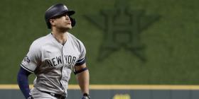 Fuera Giancarlo Stanton de la alineación de los Yankees por lesión
