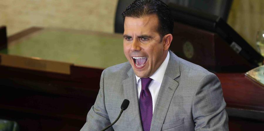 El gobernador Ricardo Rosselló rechazó este lunes que haya negociado con la Junta de Supervisión Fiscal (JSF) la derogación de la Ley de Despido Injustificado (horizontal-x3)