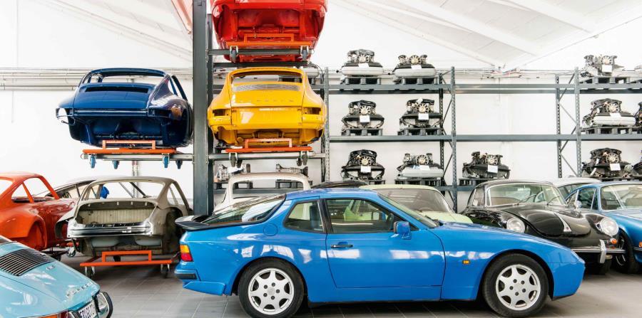 Cada época y cada generación de Porsche 911 tiene sus colores. (horizontal-x3)