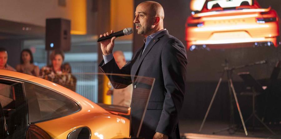 Orlando Pérez, gerente de ventas de Garage Europa Porsche Center. (Suministrada)
