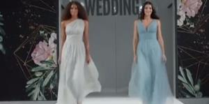 El azul, el preferido de las bodas en 2020