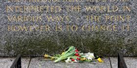 La tumba de Marx en Londres es vandalizada por segunda vez en dos semanas