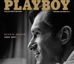 La revista Playboy cierra el año con Hefner en portada