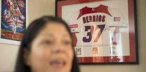 La madre de José Orlando Berríos muestra su orgullo por su hijo
