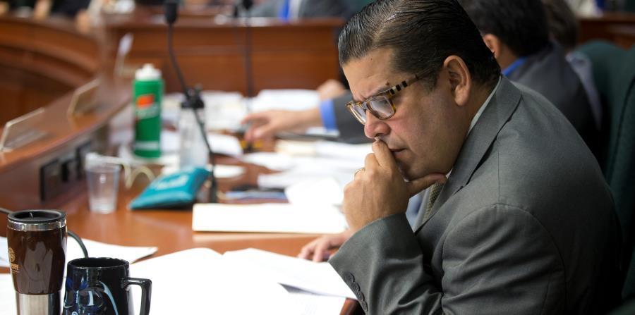 El representante Hernández indicó que hoy se darán a conocer los detalles de los argumentos que usarán en contra de la Junta de Supervisión Fiscal. (horizontal-x3)