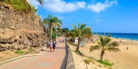 Fuerteventura es un apreciado destino para relajarse y la actividades al aire libre