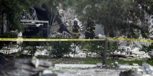 En fotos: así quedó un centro comercial de Florida tras una explosión