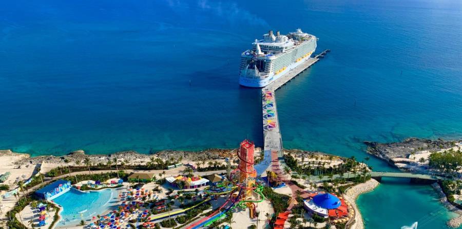 Isla CocoCay en Bahamas, propiedad de Royal Caribbean. (Unsplash)