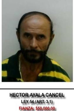 Héctor Iván Ayala Cancel será llevado hoy ante un magistrado para la evaluación de los cargos. (Suministrada)