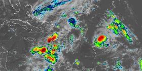 Lluvias asociadas al huracán Jerry afectarán el área local