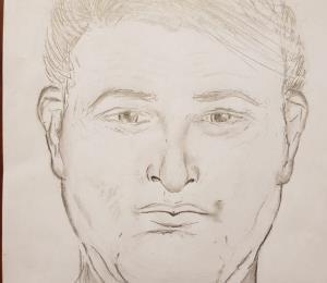 Difunden un boceto del presunto agresor de Georgie Navarro