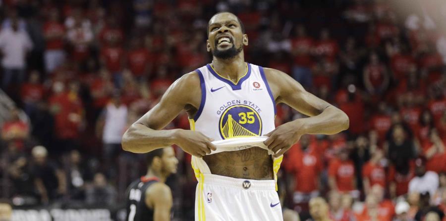 Kevin Durant, de los Warriors de Golden State, afirmó que (AP). (horizontal-x3)