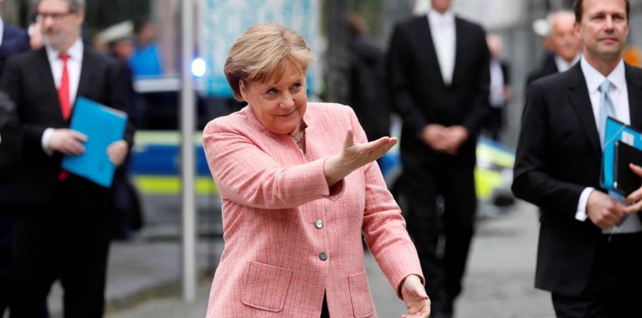 La canciller de Alemania, Angela Merkel (horizontal-x3)