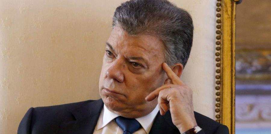 Santos participó en un foro económico junto a empresarios colombianos. (horizontal-x3)