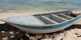 Detienen a nueve indocumentados en la costa de Aguada