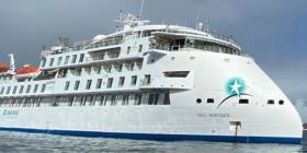 Dan positivo a coronavirus 81 pasajeros de crucero anclado en Uruguay