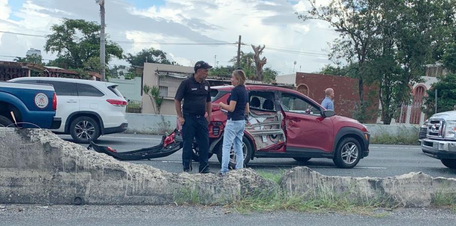 Dos accidentes ocurrieron en el expreso Martínez Nadal. (Suministrada) (horizontal-x3)
