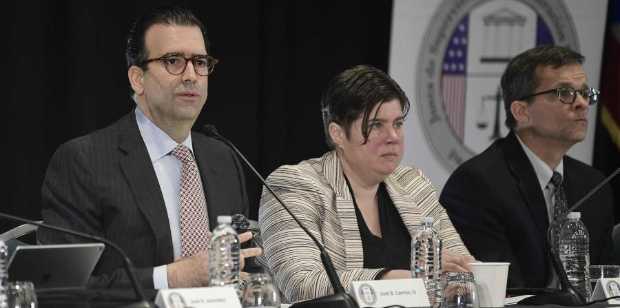 Members of the Financial Oversight and Management Board for Puerto Rico. (GFR Media) (horizontal-x3)