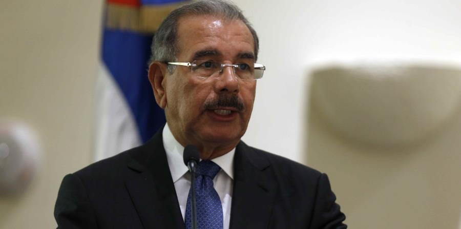 El presidente dominicano, Danilo Medina, instruyó para que las entidades de socorro sigan el desarrollo del sistema. (horizontal-x3)