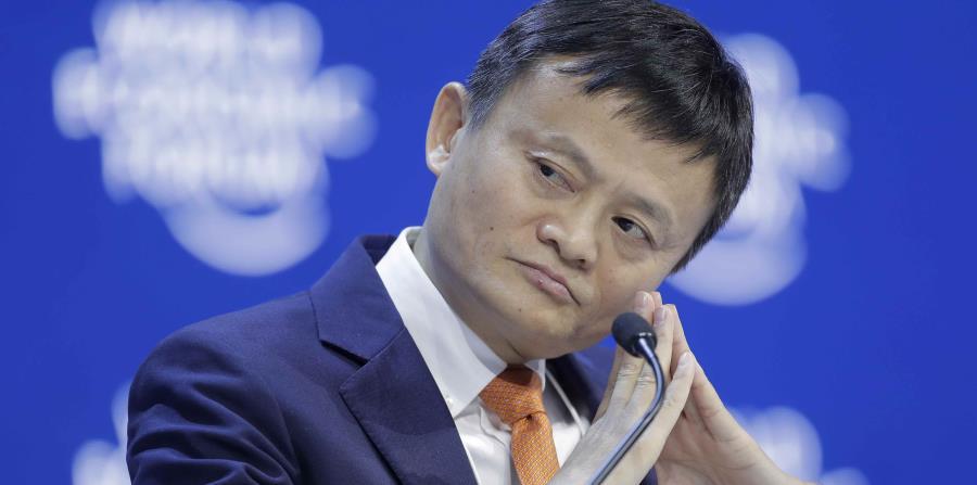 Alibaba Group es la mayor compañía mundial de comercio en la internet. En la foto está Jack Ma. (horizontal-x3)
