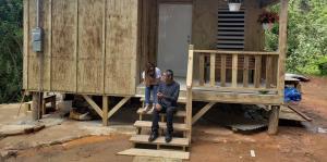 Así fue la construcción del nuevo hogar de don Héctor en Maricao