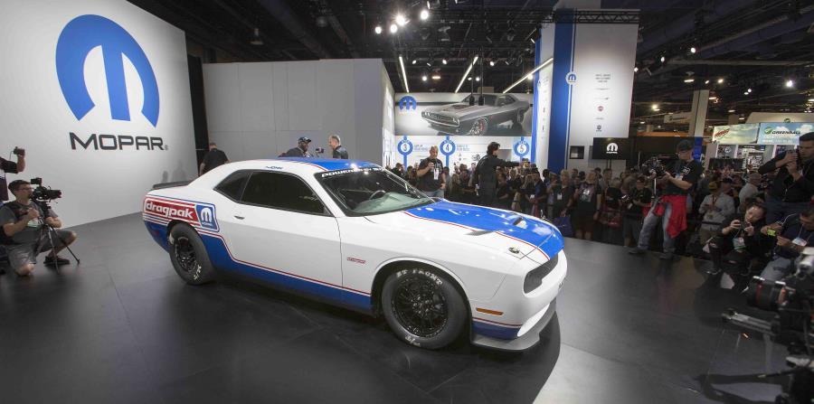 Dodge Challenger Drag Pak (Suministrada)