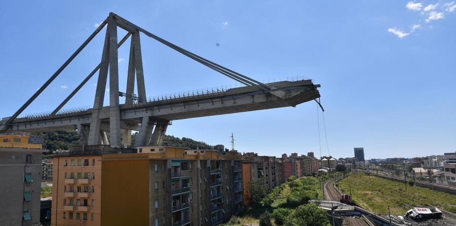 Expertos aconsejan demoler urgentemente el puente de Génova (horizontal-x3)