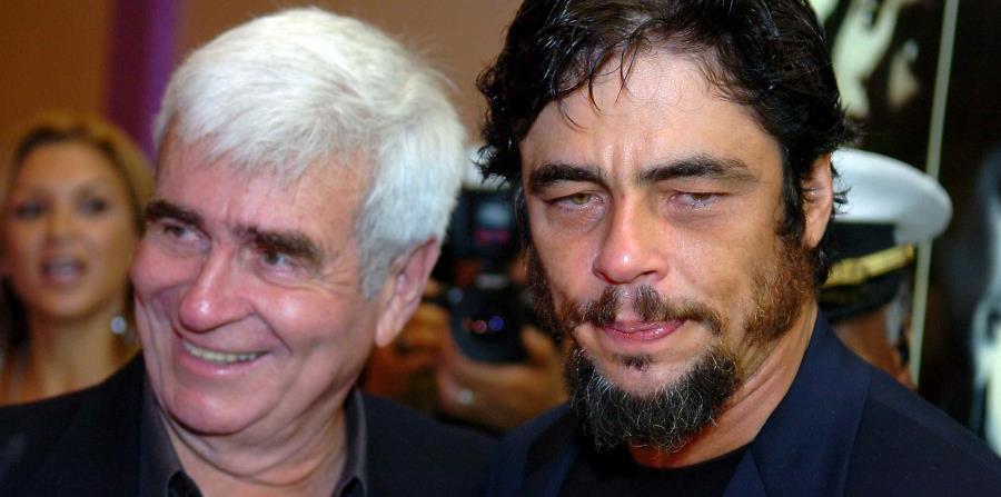 Fallece el padre de Benicio del Toro