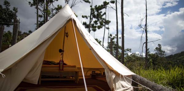 """""""Glamping"""", la nueva modalidad para acampar en Puerto Rico"""