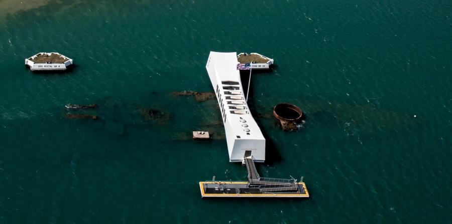 Memorial Nacional de Pearl Harbor. (Unsplash)