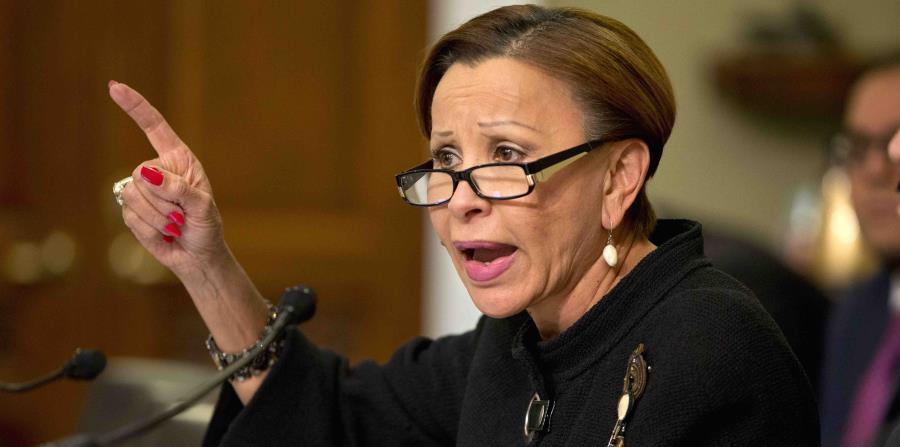 Nydia Velázquez envió también a principios de febrero una carta a la jefa de Estadísticas de la Oficina de Presupuesto y Gerencia de la Casa Blanca, Nancy Potok. (GFR Media) (horizontal-x3)