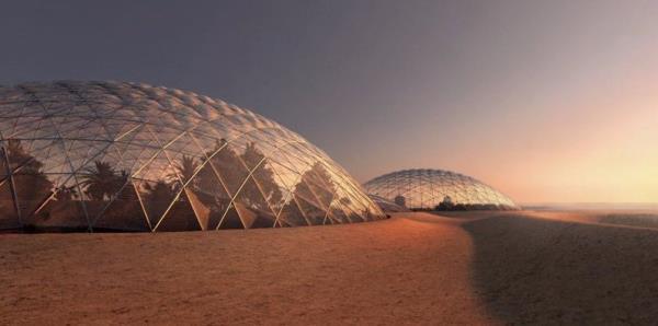 """Dubái construye una """"ciudad marciana"""" y estará lista en 30 meses"""