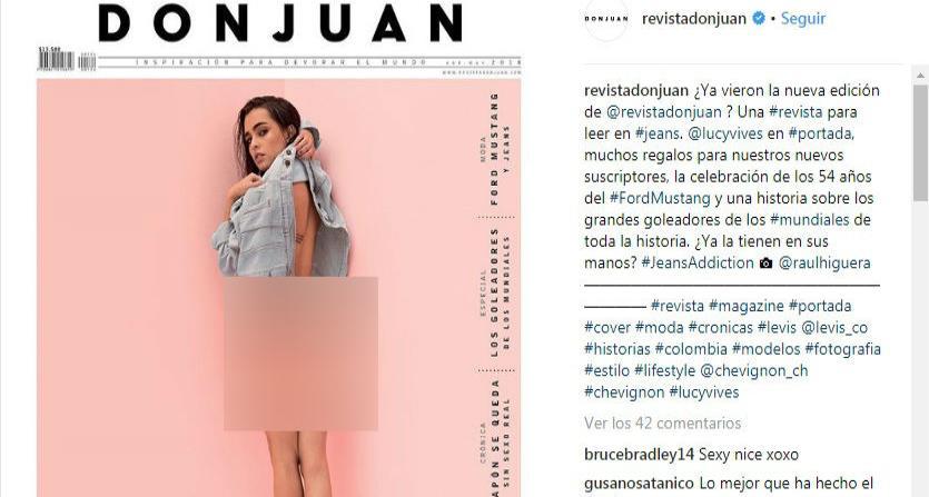 No tiene miedo: La hija de Carlos Vives se desnudó otra vez