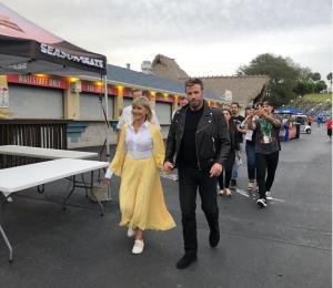 """John Travolta y Olivia Newton-John vuelven a ser """"Danny"""" y """"Sandy"""" de """"Grease"""""""