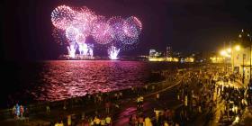 Cubanos dieron la bienvenida a los 500 años de La Habana