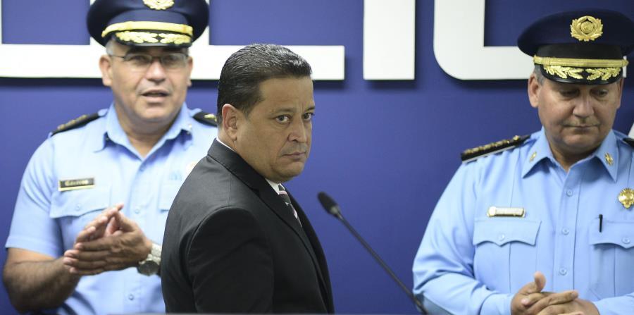 En la foto está Henry Escalera, designado comisionado del Negociado de la Policía. (horizontal-x3)