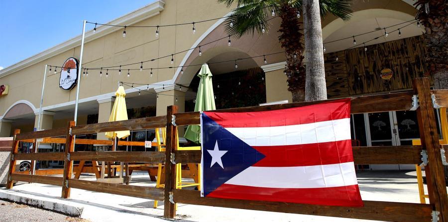 Las afueras del restaurante Pal Campo en Florida. (horizontal-x3)