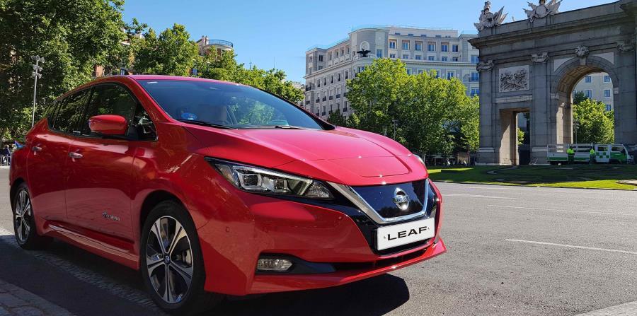 El Nissan LEAF es vehículo 100% eléctrico más vendido en el mundo. (Suministrada) (horizontal-x3)
