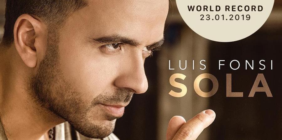 """Luis Fonsi estrena su nuevo tema musical """"Sola"""""""